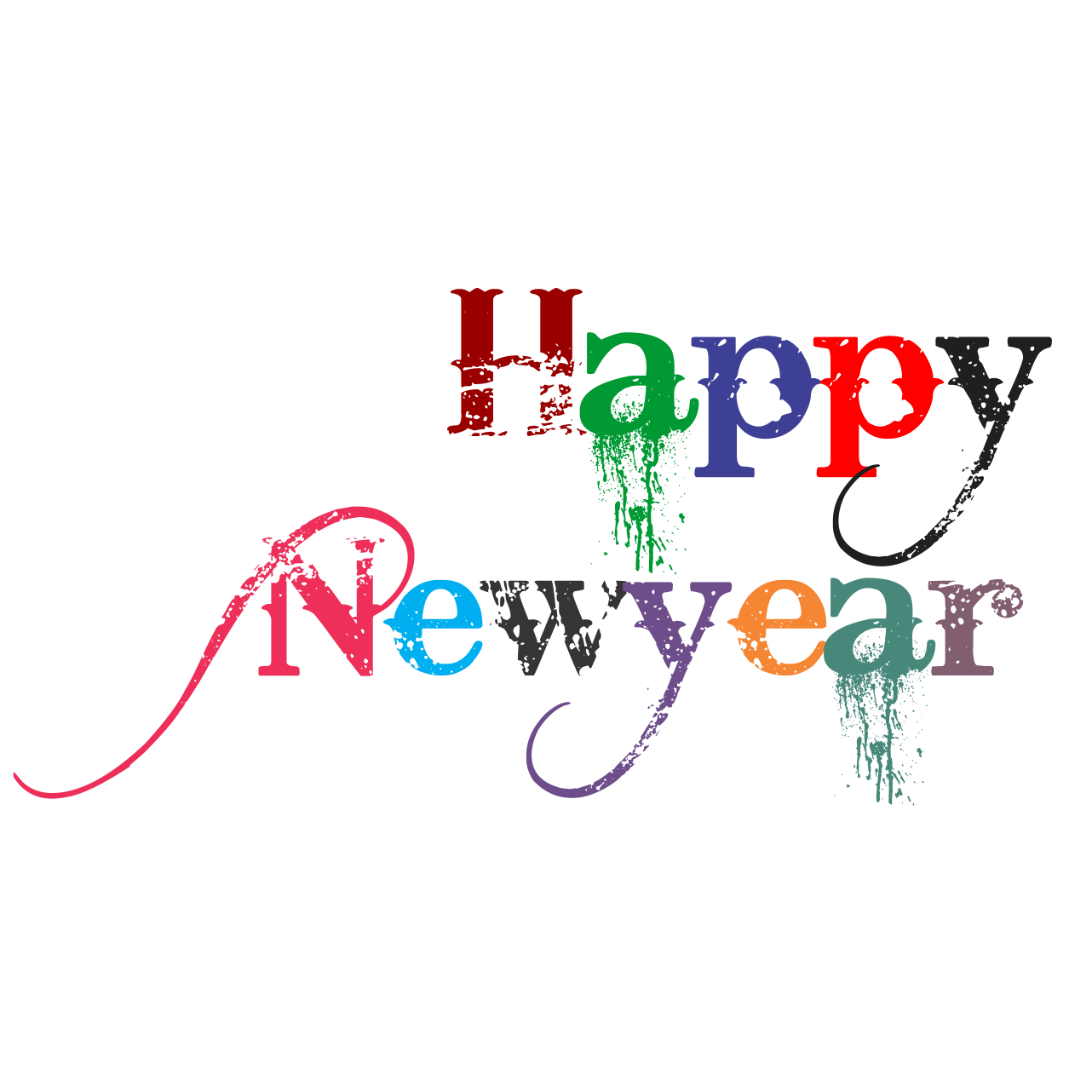 Happy New Year Png Hd