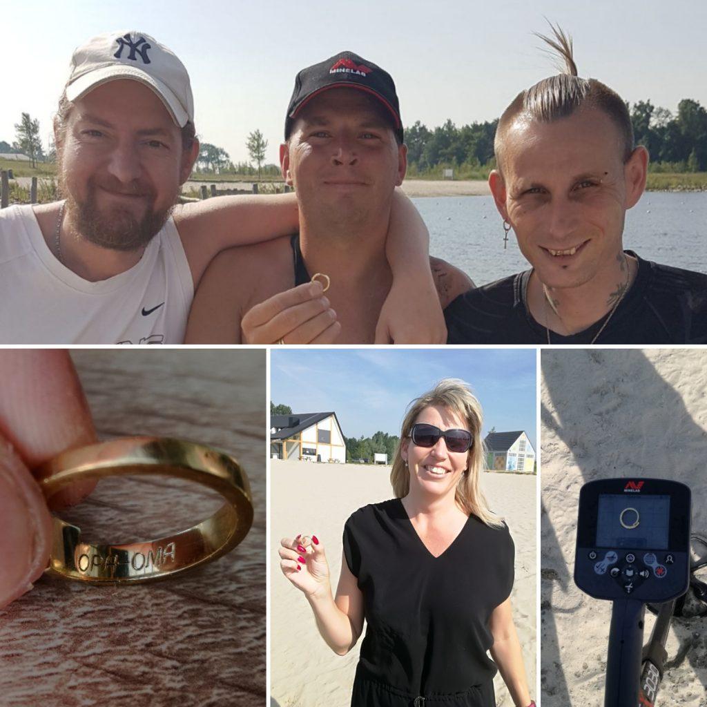 Eindeloos-Wellerwaard Verloren ring terug gevonden uit het water