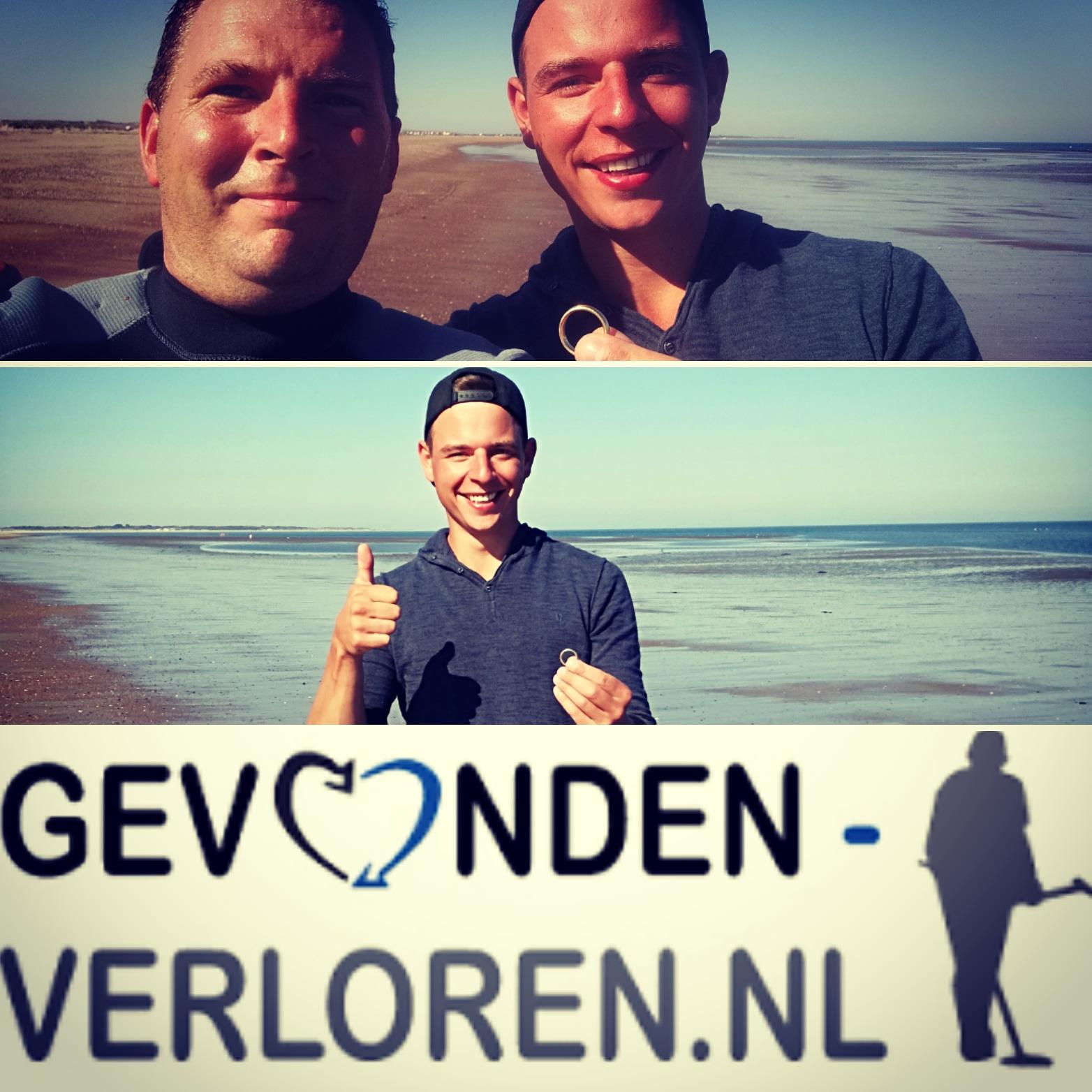 Trouwring Verloren Met Zwemmen In De Zee Brouwershaven