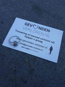 ring terug gevonden