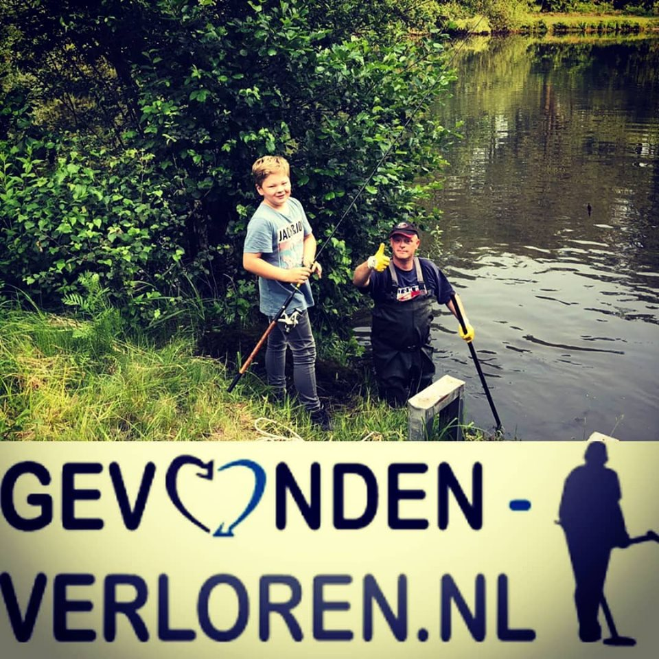 Vissen Naar Een Vishengel Met Gevonden-verloren.nl