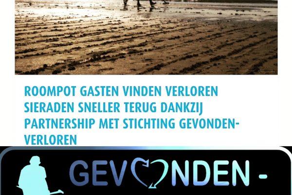 Sieraad verloren? Gevonden verloren.nl biedt hulp