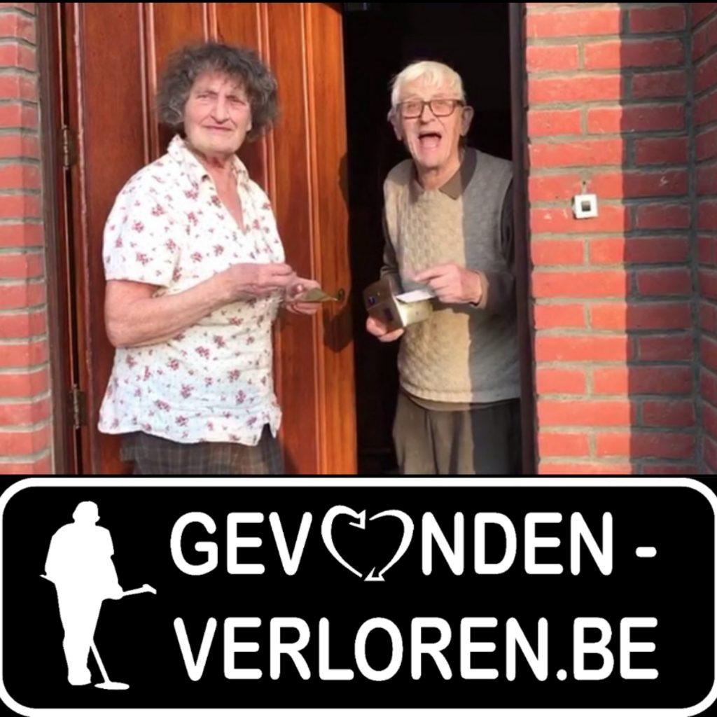 Een verrassing in België, trouwring terug bezorgd na 5 jaar, oude man zeer verbaasd!