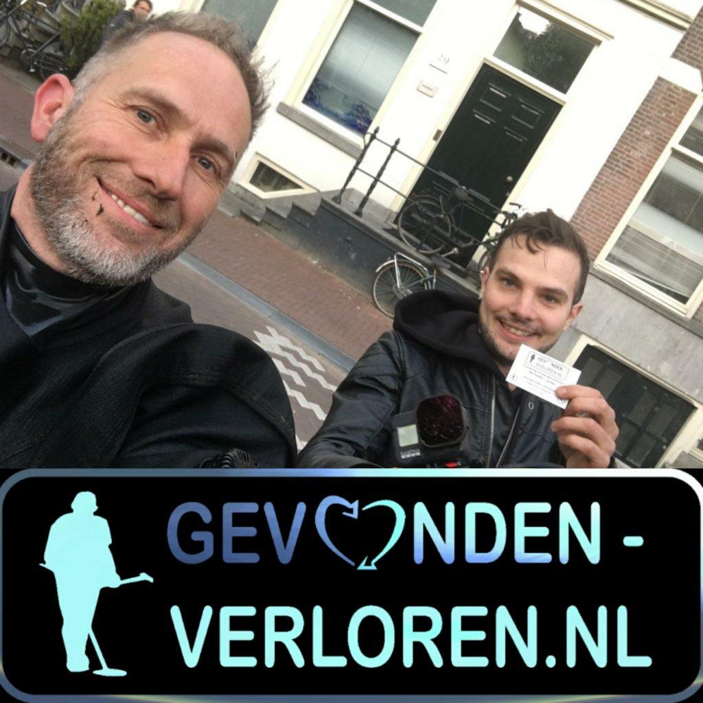 Drone te water in Amsterdam, we got it!
