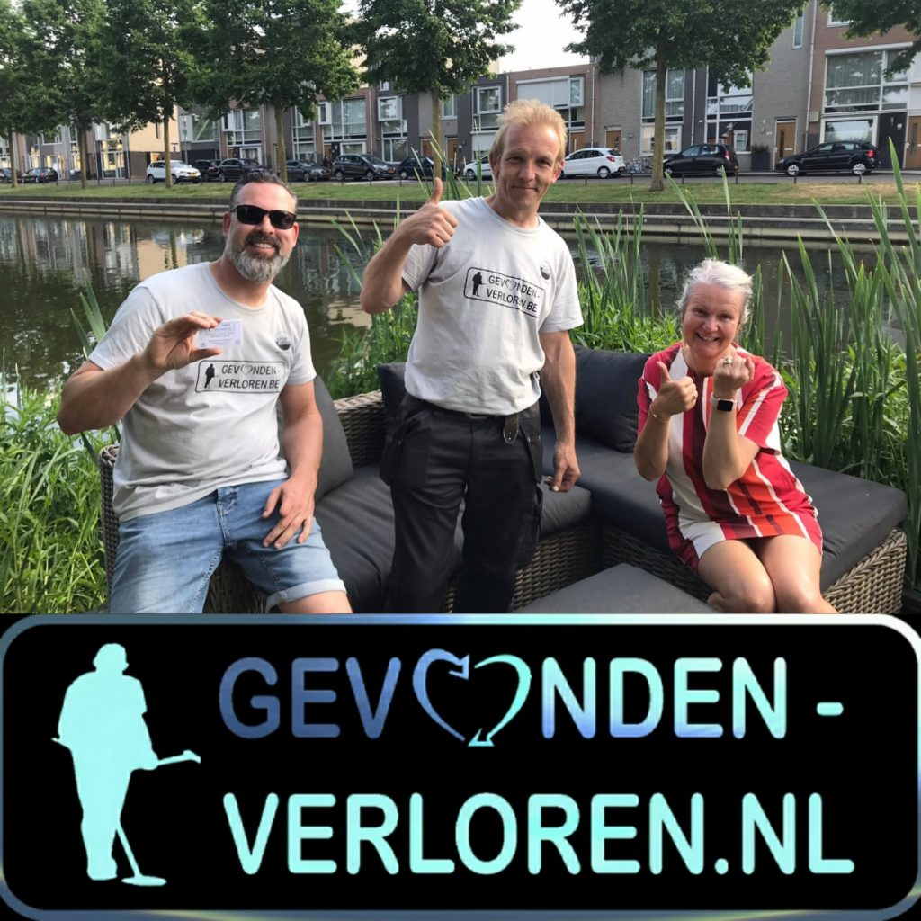 Rosmalen een erfstuk weer boven water dankzij de vrijwilligers uit België.