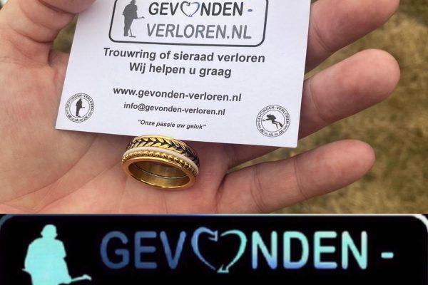Trouwring verloren? Gevonden-verloren.nl. Wij kunnen helpen