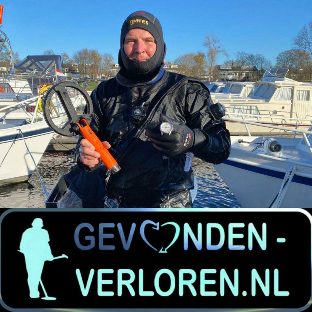 Duiken in Katwijk aan zee naar een verloren horloge