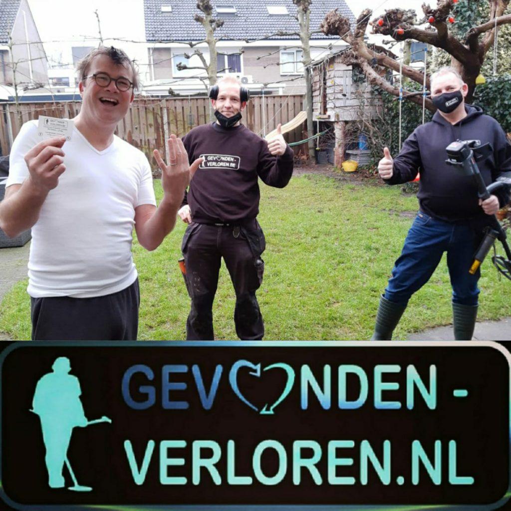 Ulvenhout, Platina trouwring. België en Nederland helpen elkaar.