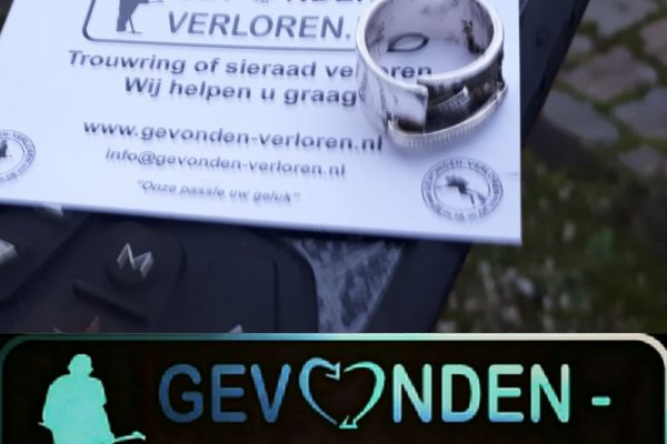 Dierbare ring teruggevonden door Gijsbert