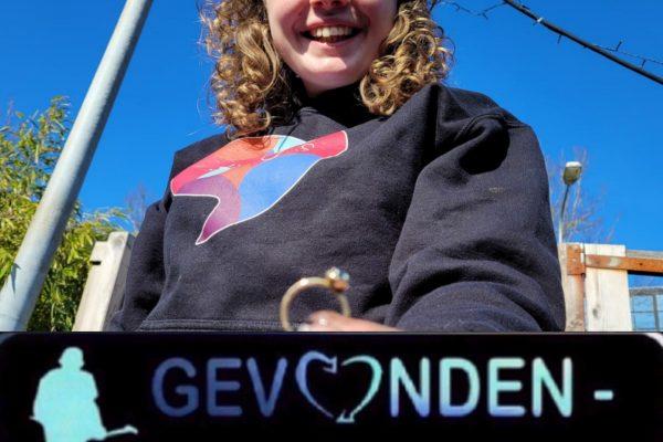 Gouden ring weer opgedoken in Groningen.