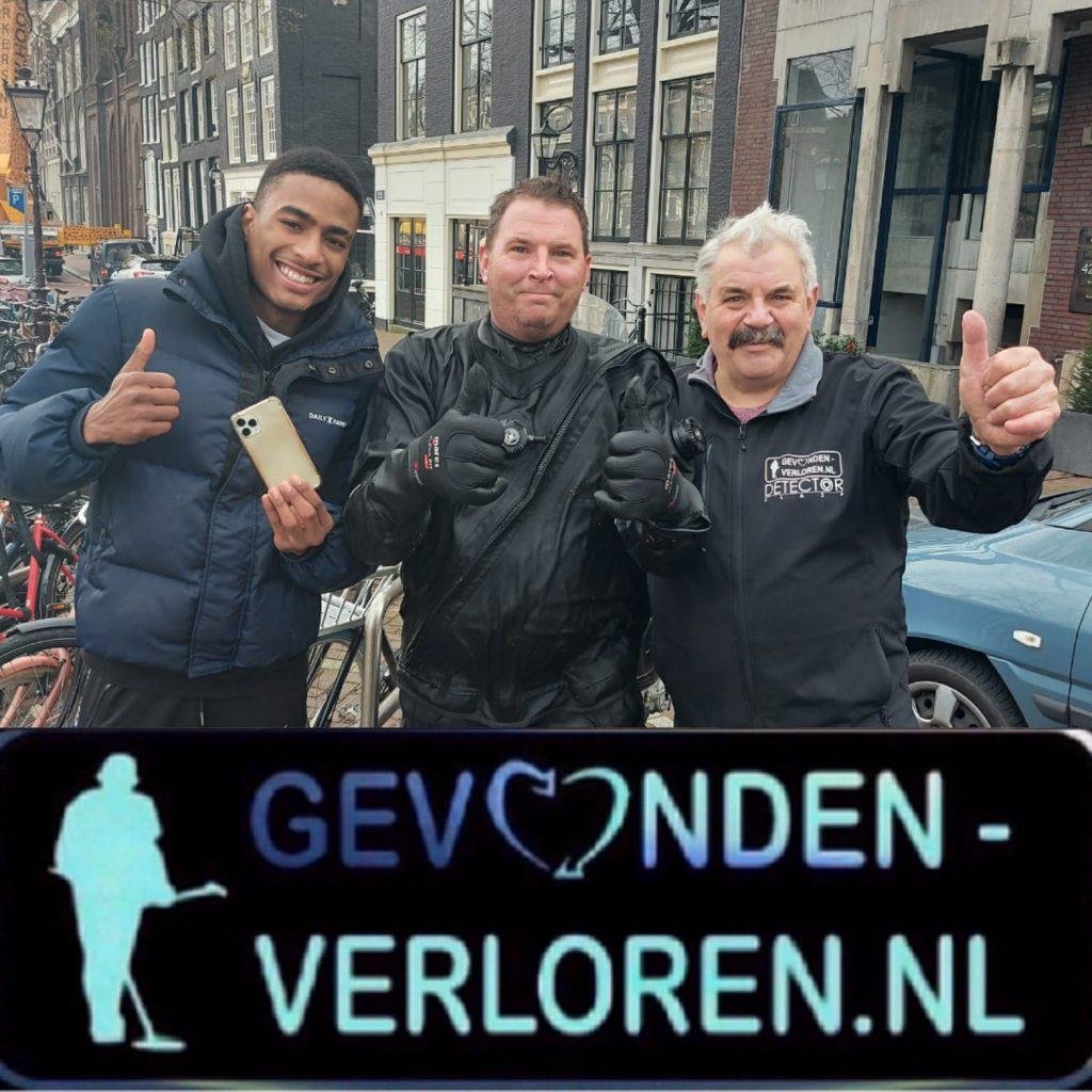 Ook vandaag weer veilig boven- en onderwater in Amsterdam.