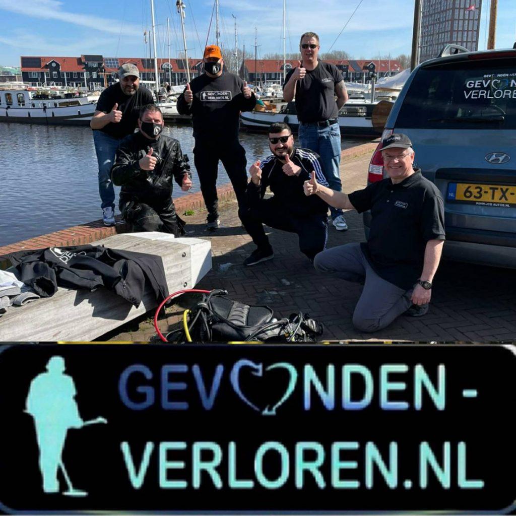 Reitdiephaven te Groningen, trouwring opgedoken.