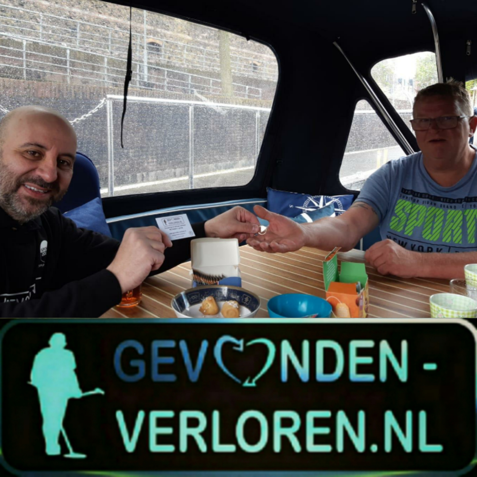 Trouwring opgedoken