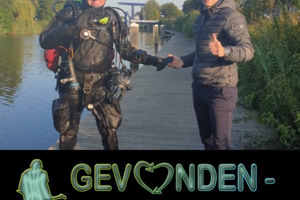 IPhone in het water gevallen? Wij kunnen helpen. Stichting Gevonden-verloren.nl
